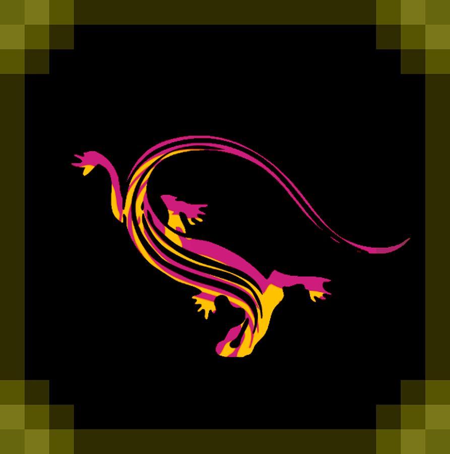 Lizard Digital Art - Reptile by Tracy Blackburn