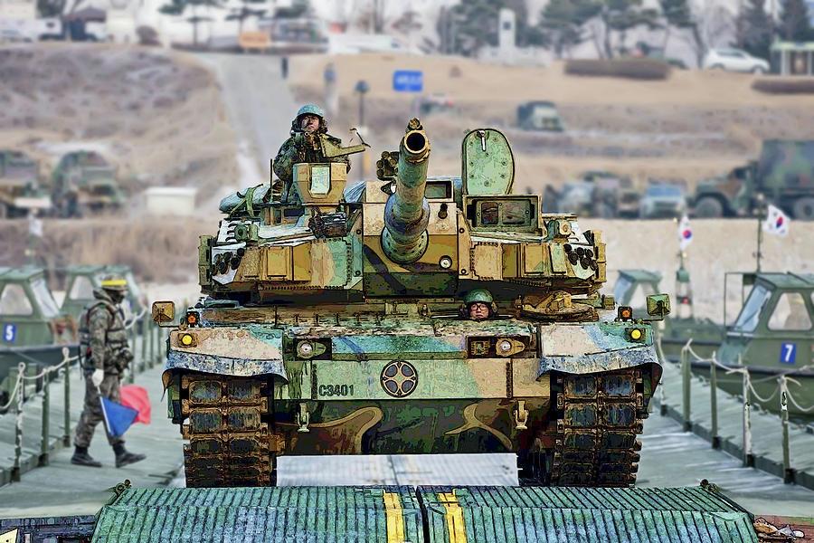 https://images.fineartamerica.com/images/artworkimages/mediumlarge/1/republic-of-korea-k2-black-panther-tank-herb-paynter.jpg