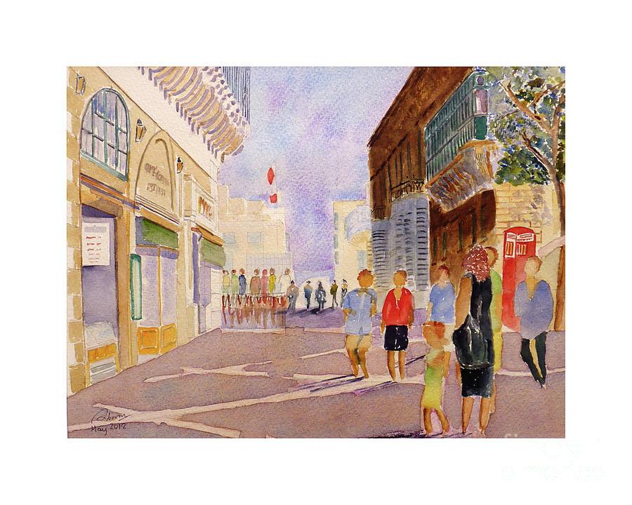 Republic Street Valletta by Godwin Cassar