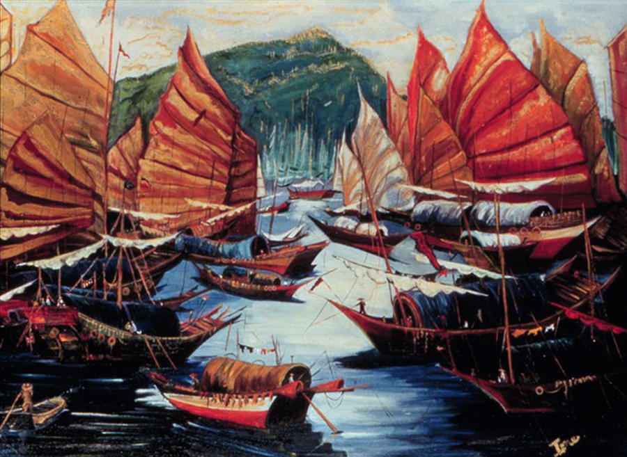 Repulse Bay Painting - Repulse Bay  by Ione Citrin