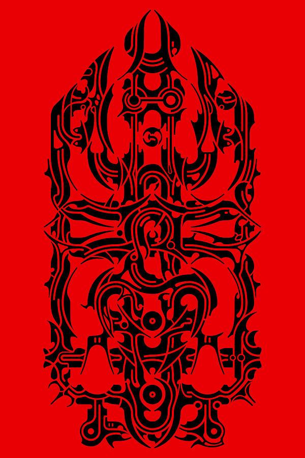 Abstract Digital Art - Requiem IIi by David Umemoto