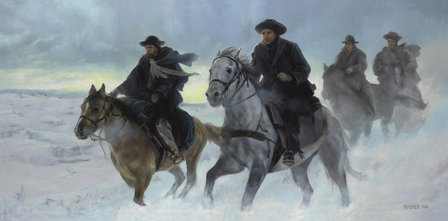 Rescue Painting - Rescue Riders by Emily Pugmire
