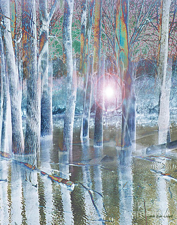 Hope Digital Art - Rescued by the Lord by Lynn Zuk-Lloyd