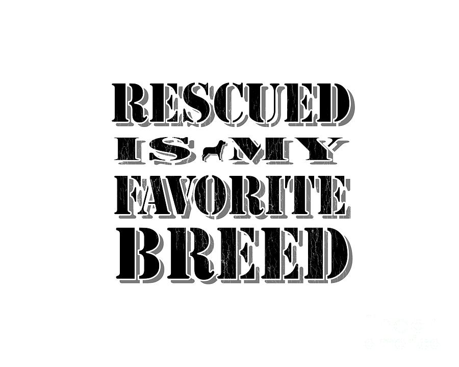 Rescued Digital Art - Rescued Stencil  by Tim Wemple