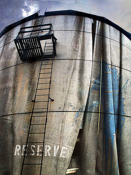 Text Photograph - Reserve by Paul Bracey
