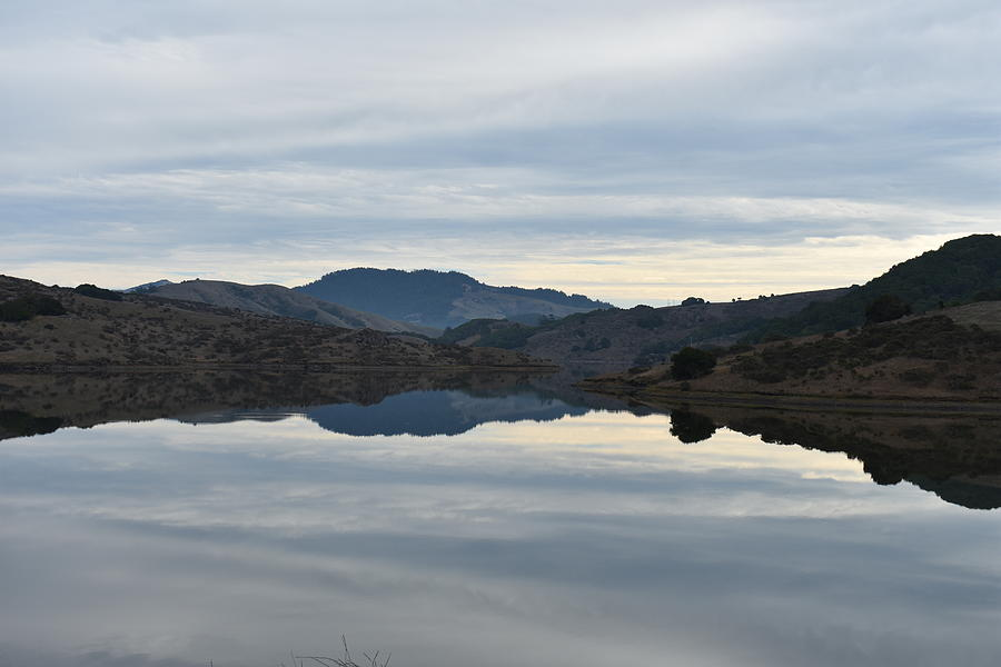 Water Photograph - Reservoir Reflection by D Patrick Miller
