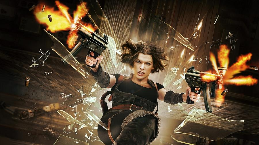 Resident Evil Afterlife Digital Art By Bert Mailer