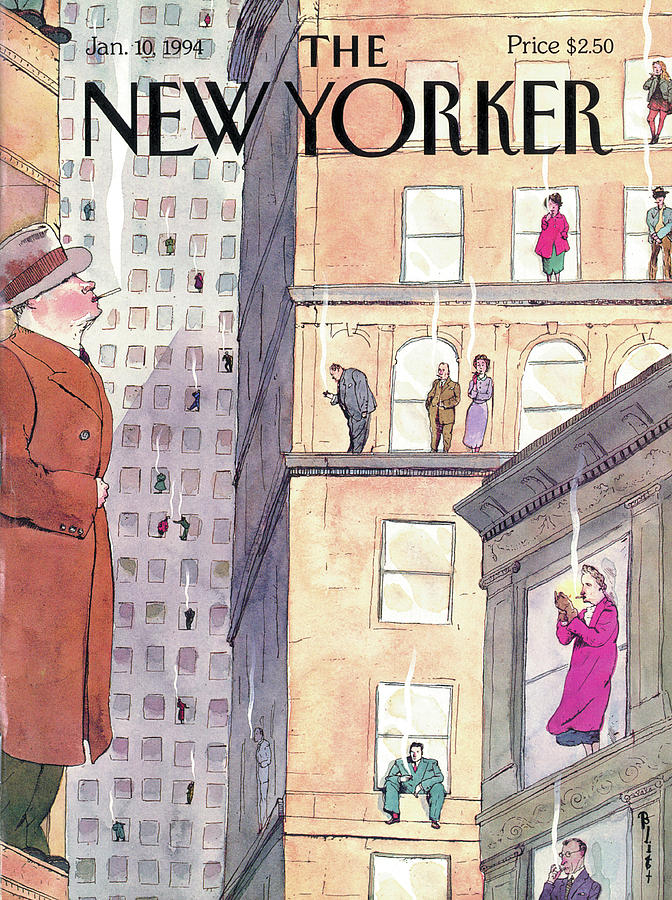 New Yorker January 10th, 1994 Drawing by Barry Blitt