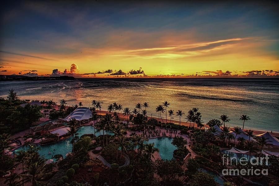 Resort Sunset by Ray Shiu