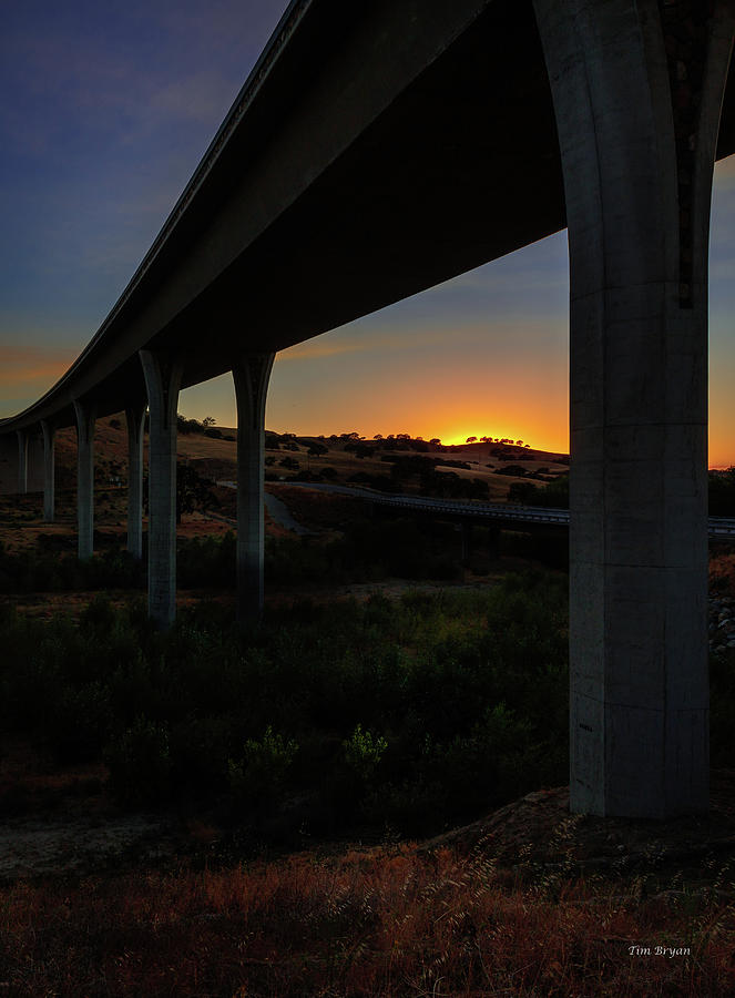 Paso Robles Photograph - Respite by Tim Bryan