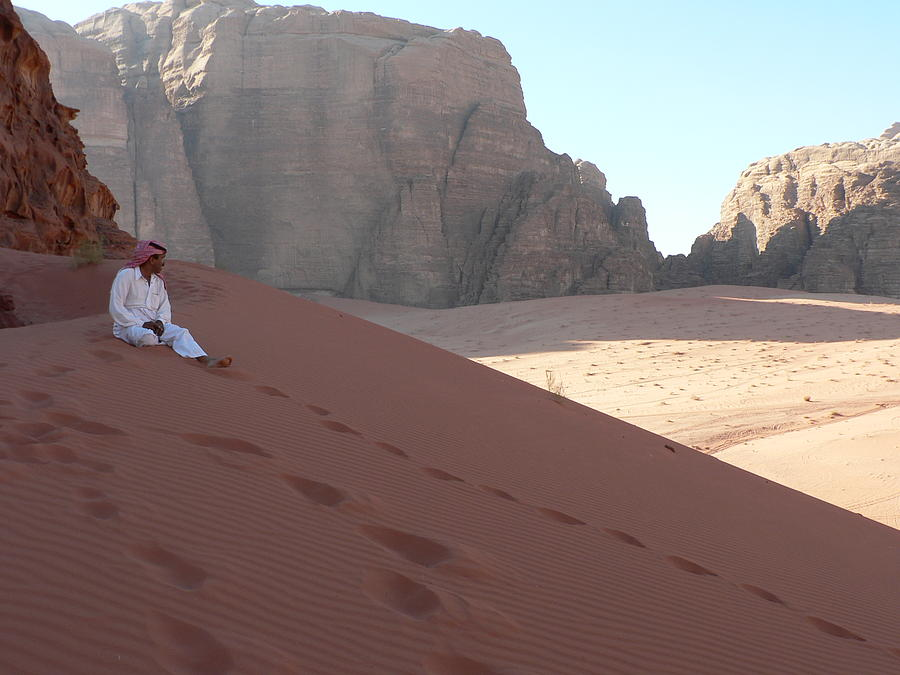 Jordan Photograph - Rest At Wadi Rum by James Lukashenko