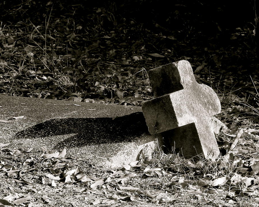 Grave Photograph - Rest In Peace by Kimberly Camacho