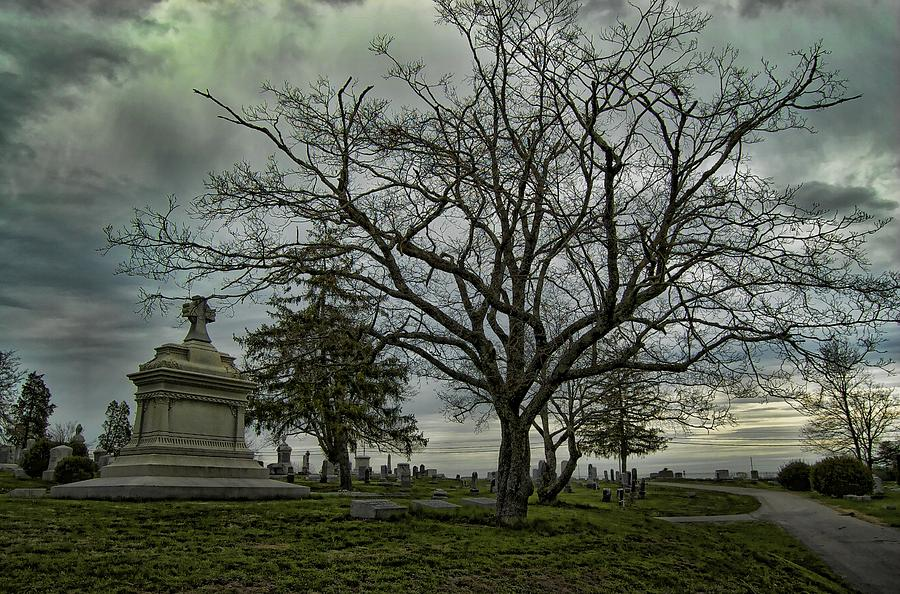 Cemetary Photograph - Rest In Peace by Nick Roberts