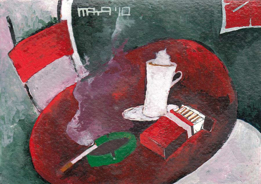 Rest Painting - Rest by Maya Manolova