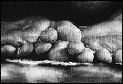Feet Drawing - Rest Your Feet by Kristen Gavula
