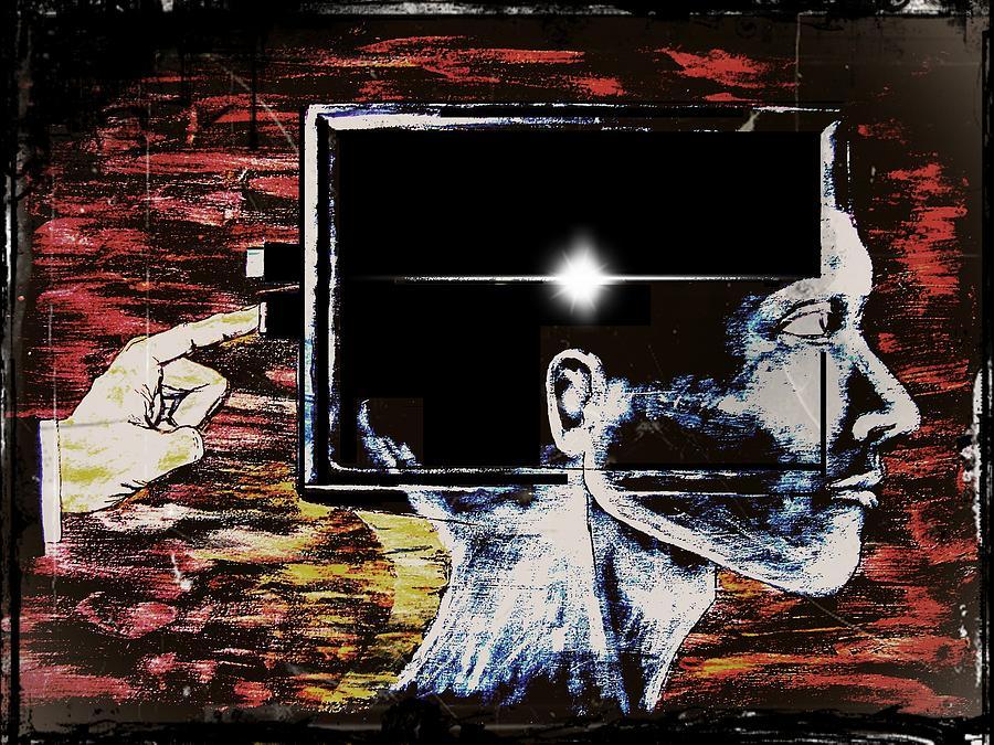 Restart Digital Art - Restart by Paulo Zerbato