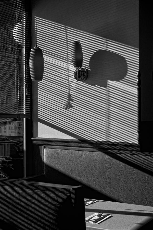 Shadows Photograph - Restaurant Late Afternoon 2 by Robert Ullmann