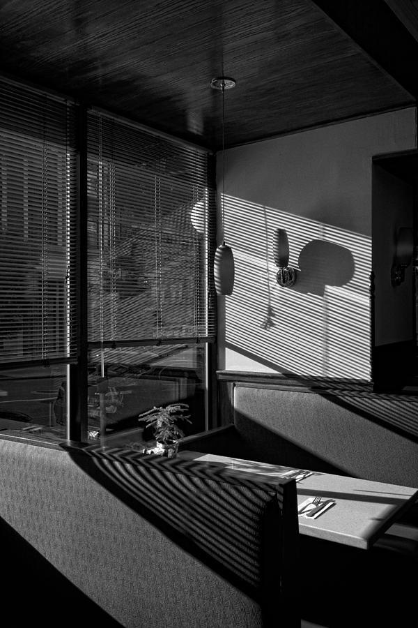 Restaurant Photograph - Restaurant Late Afternoon by Robert Ullmann