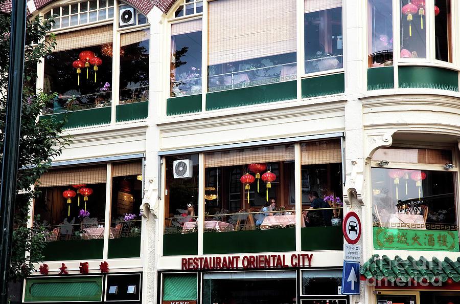 Restaurant Photograph - Restaurant Oriental City by John Rizzuto