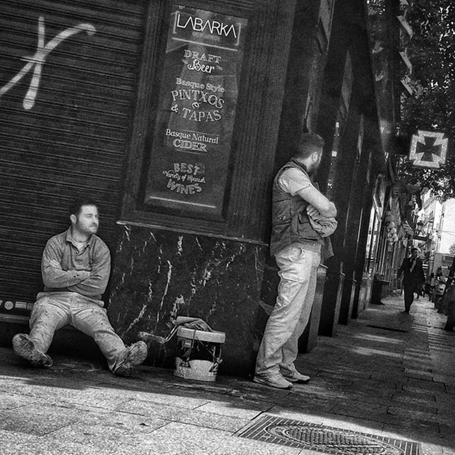 City Photograph - Resting Corner #portrait #neoprimemag by Rafa Rivas