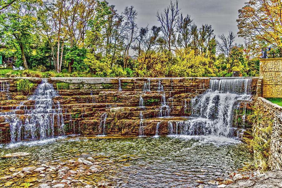 Resting Photograph - Resting Falls by William Norton