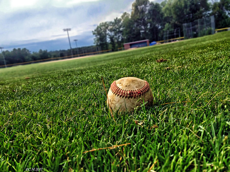 Baseball Photograph - Resting Pitch by Catherine Melvin