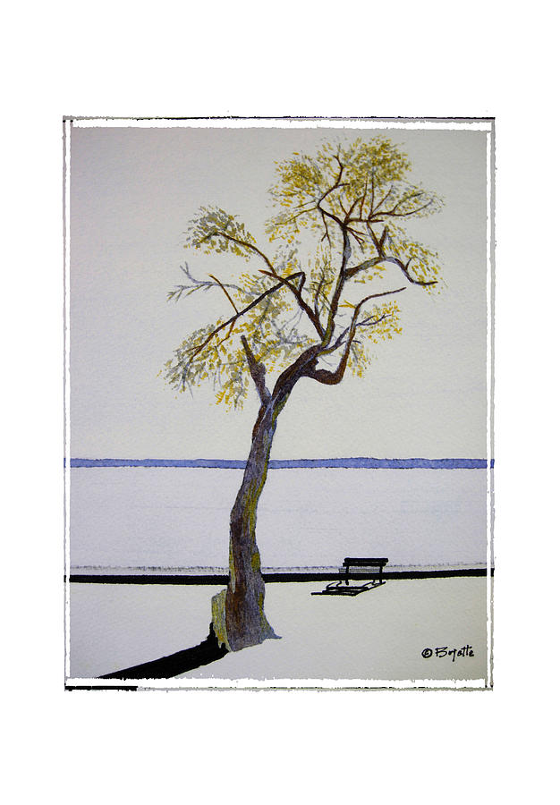Tree Painting - Resting Place by Robert Boyette