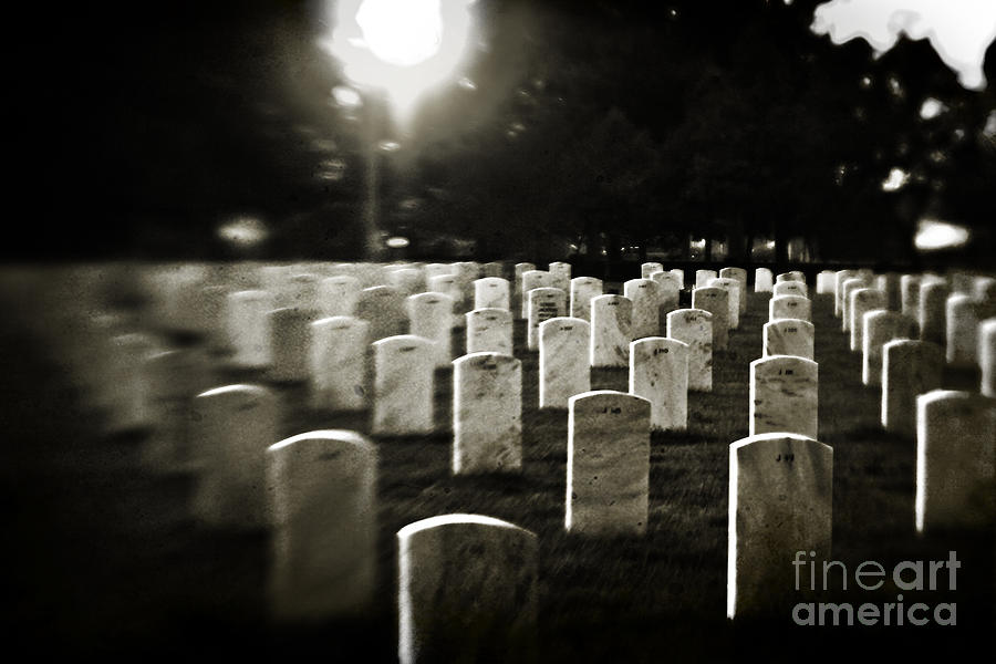 Cemetery Photograph - Resting Place by Scott Pellegrin
