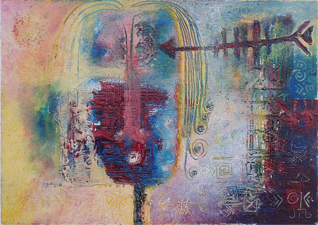 Restless Mind Painting by Yosief Indrias