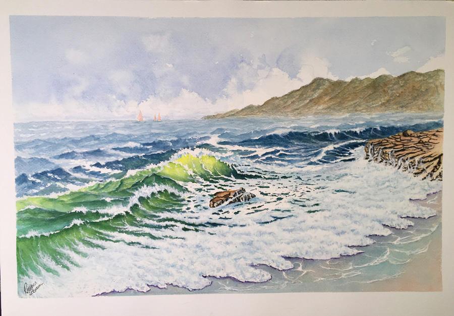 Restless Sea by Richard Benson
