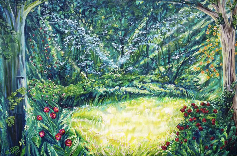 Nature Painting - Restoration by Suzanne King
