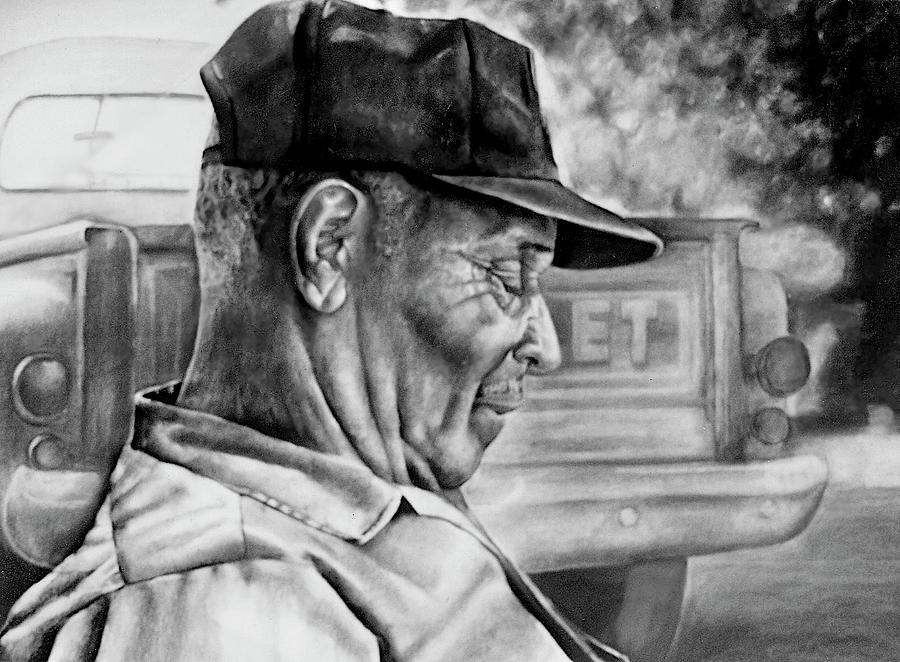 Man Drawing - Retired by Curtis James
