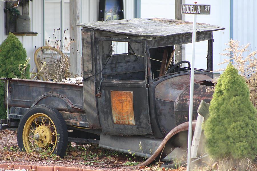 Car Photograph - Retired by Martie DAndrea