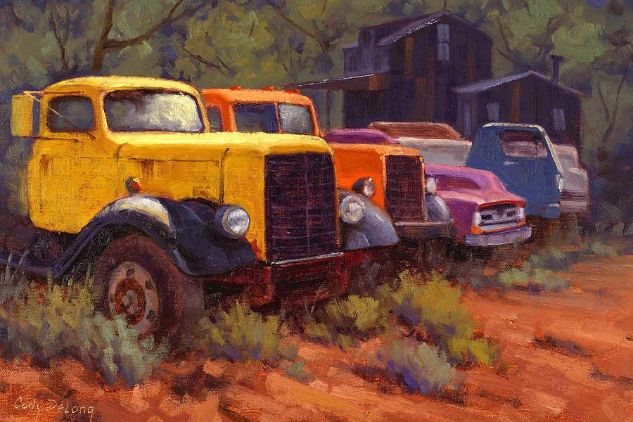 Cody Delong Painting - Retirement Home by Cody DeLong