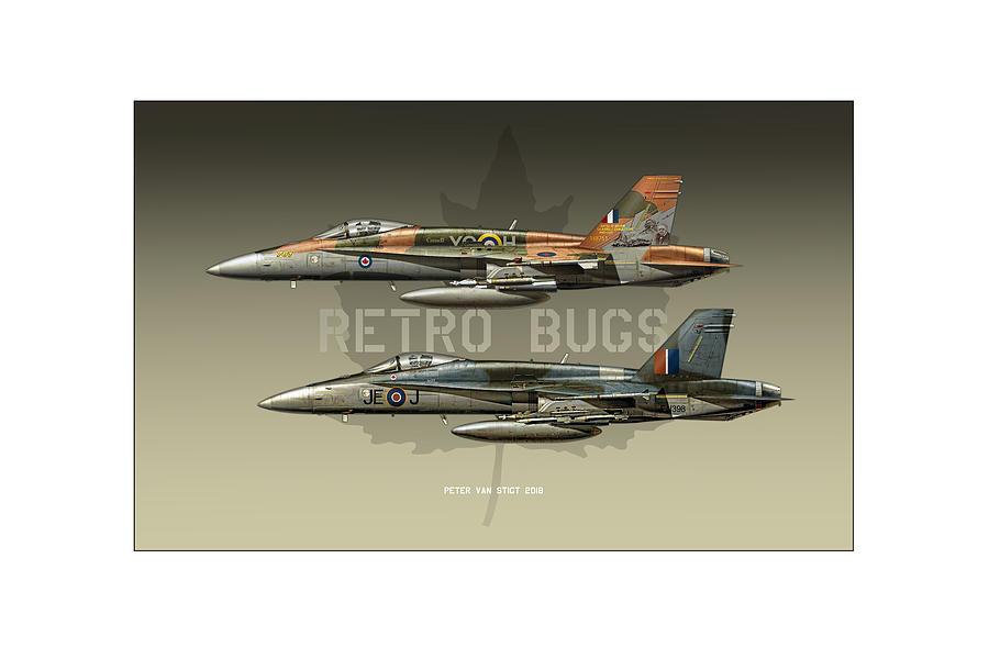 Retro Bugs by Peter Van Stigt