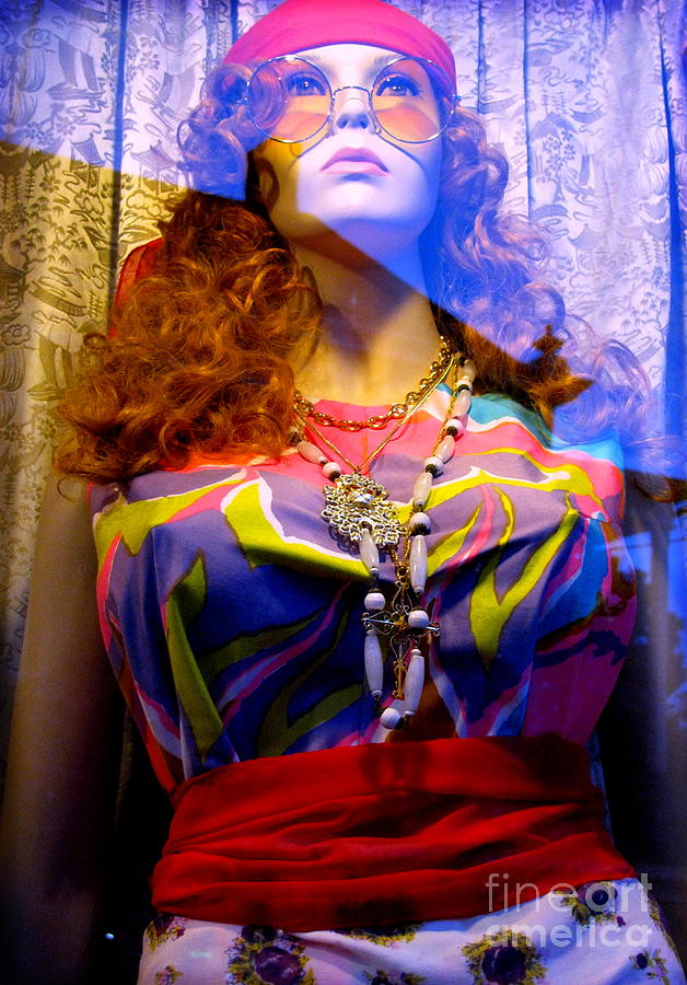 Mannequin Photograph - Retro Fashion by Colleen Kammerer