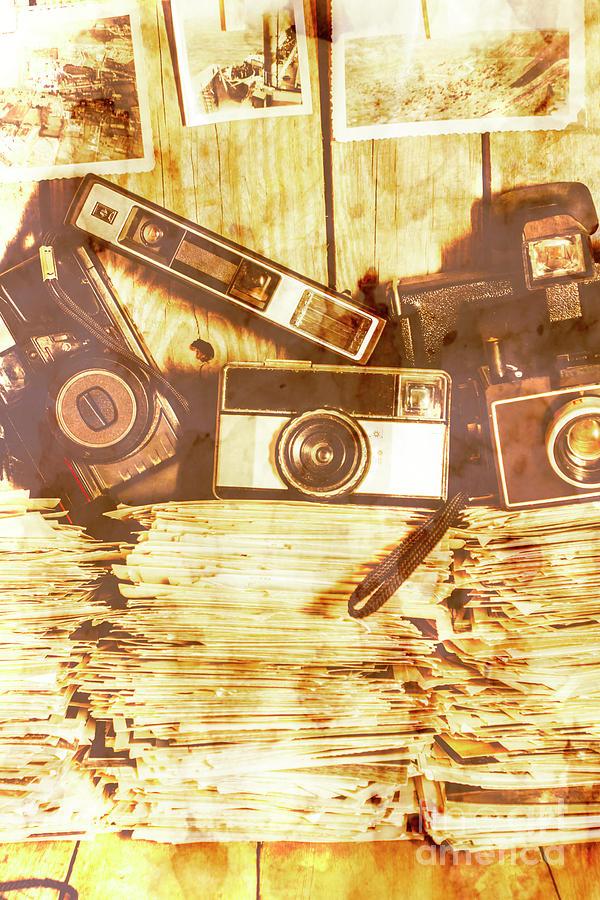 Retro Film Cameras Photograph by Jorgo Photography - Wall Art Gallery