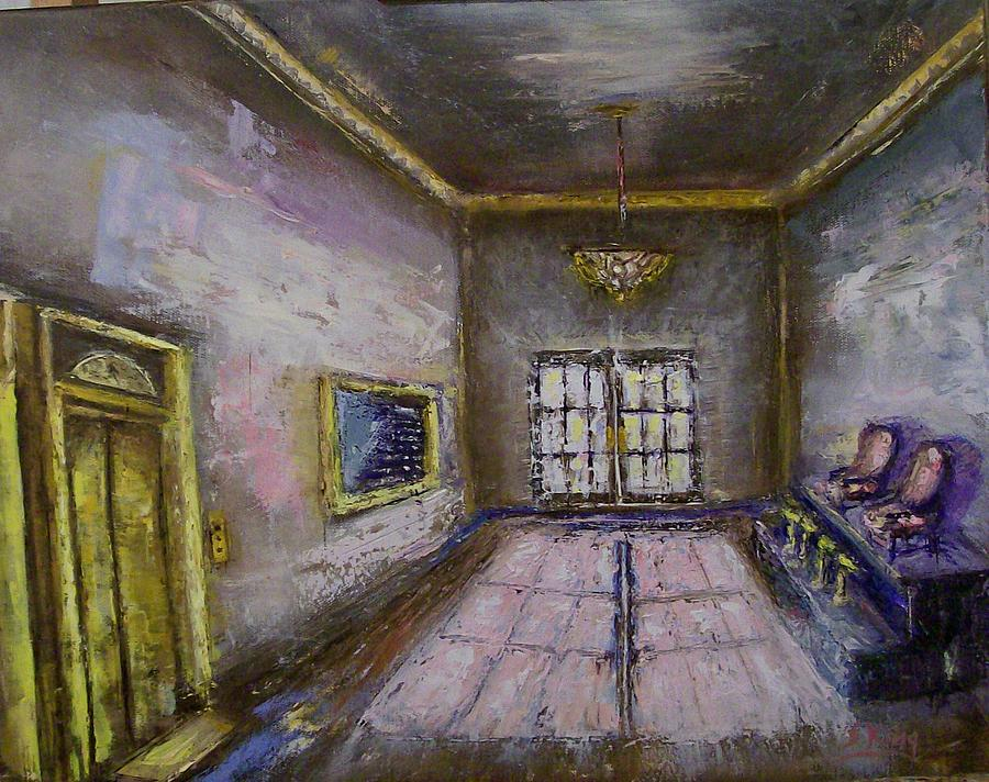 Lobby Painting - Retro Lobby by Stephen King