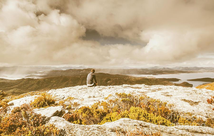 Travel Photograph - Retro Mountaintop Views by Jorgo Photography - Wall Art Gallery