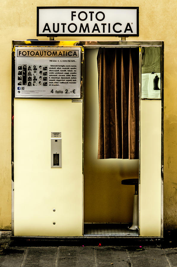 Retro Photograph - Retro Photo Booth by Wolfgang Stocker