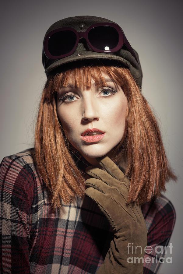 Vintage Photograph - Retro Style Fashion by Amanda Elwell