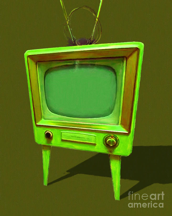 tv photograph retro television with rabbit ears 20150905 yp45 by wingsdomain art and photography