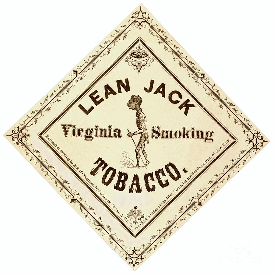 Retro Tobacco Label 1867 a by Padre Art