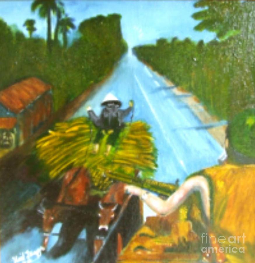 Vietnam Painting - Return From Ambush by Neil Trapp