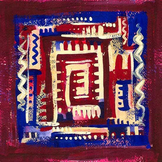 Abstractionism Painting - Return by Huseyn Bagirov