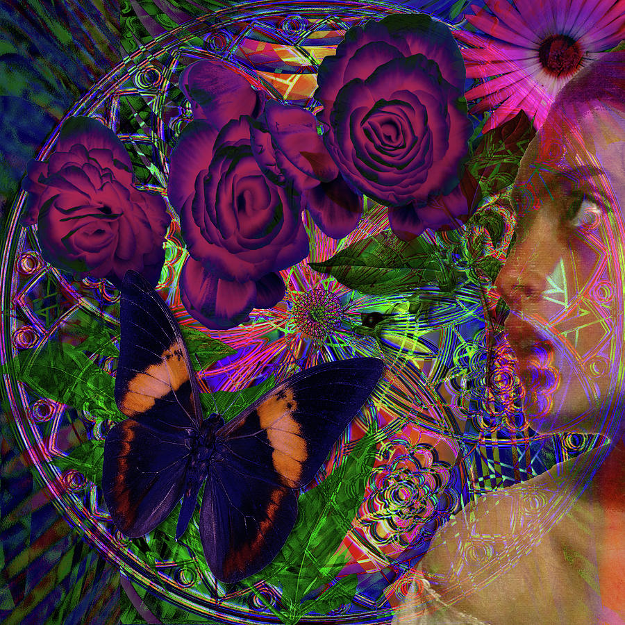 The Mind And Society Digital Art - Return Of Paradise Glass by Joseph Mosley