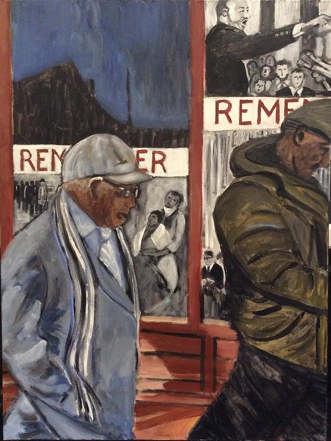 Civil Rights Painting - Return To Selma by Fran Steinmark