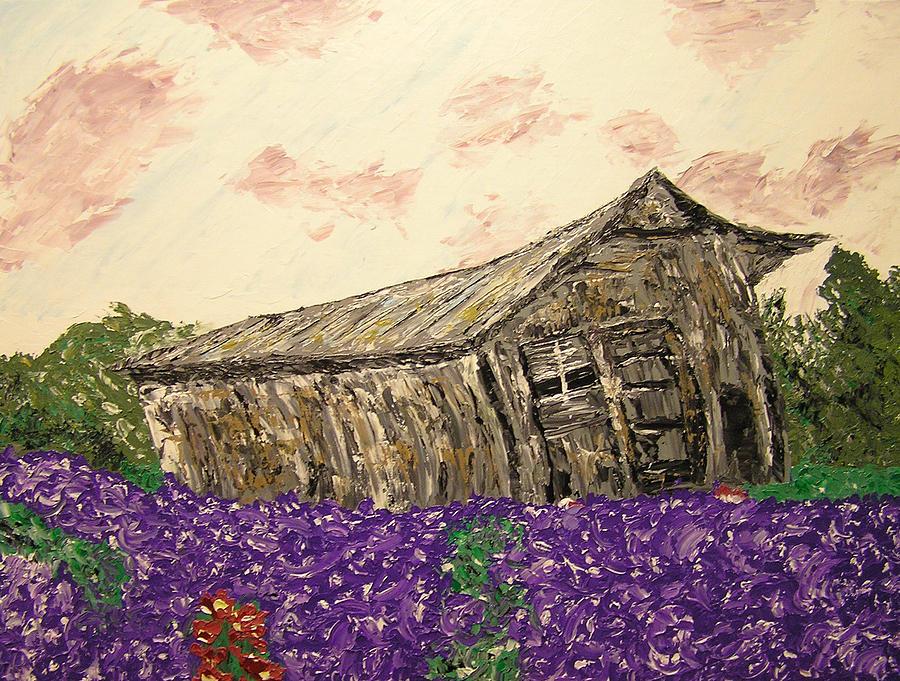 Landscape Painting - Return To Serenity by Ricklene Wren
