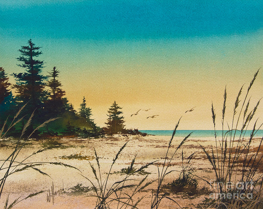 Shore Painting - Return To The Shore by James Williamson