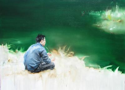 Return To Where I Began Painting by Deng Bin